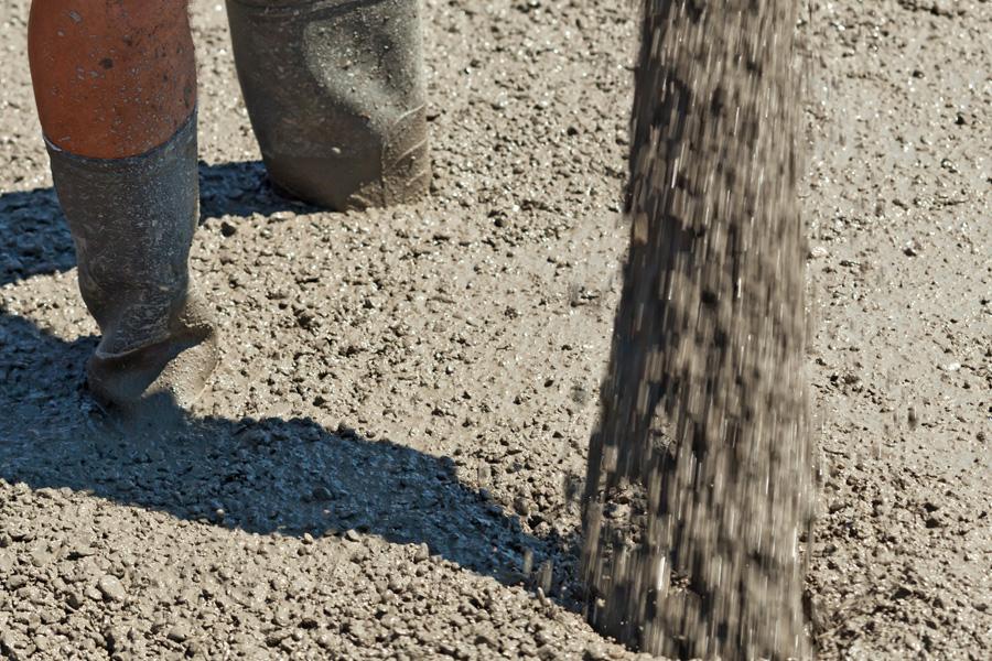 Abrasive Baustoffe